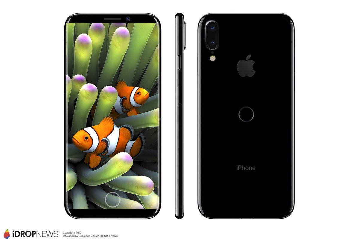 2-iphone 8 render