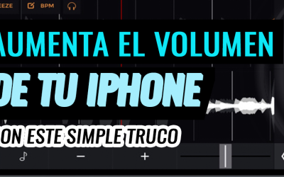 AUMENTA EL VOLUMEN DE TU IPHONE FB