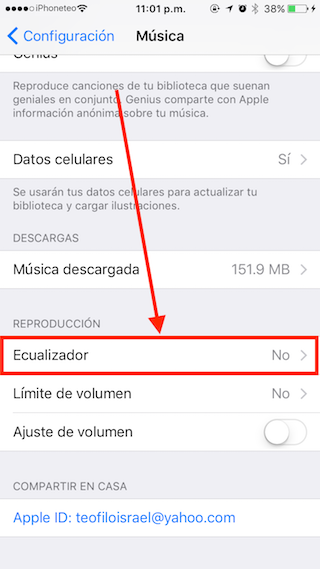 aumentar volumen iphone 2