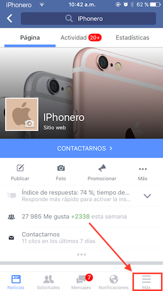desactivar reproduccion automatica videos facebook iphone 1