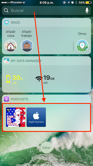 podcasts widget